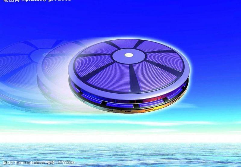 科技创意技创意圆环模型现代科?#35745;?#20182;设计图库72dpijpg