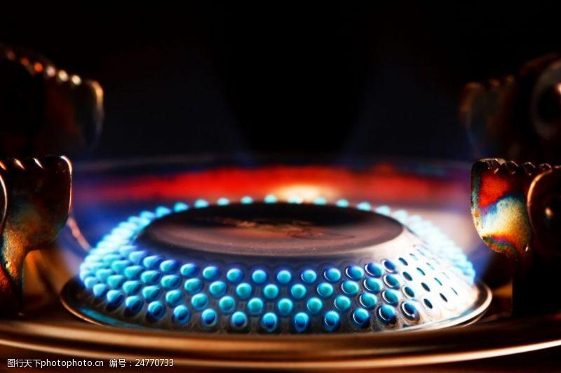 廚房燃氣灶高清圖片