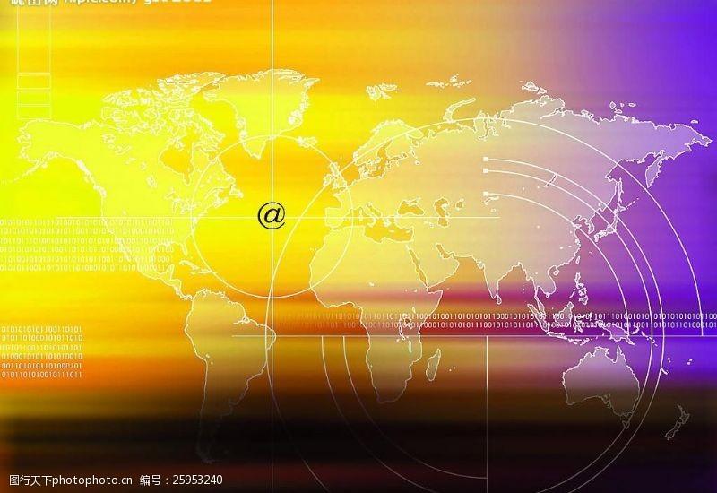 科技创意黄色光图片模板下载72dpijpg(1)