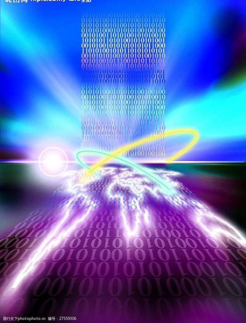 科技创意闪光地球图片模板下载意闪光地球科技之光现代科?#35745;?#20182;设计图库72dpijpg