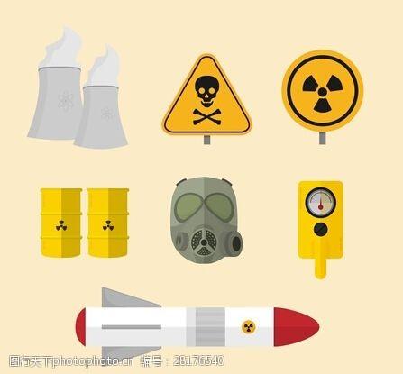 環境污染矢量素材
