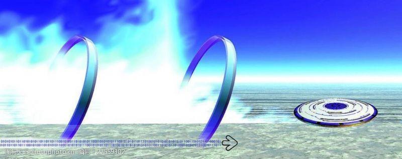 科技创意圆环光图片模板下载图库72dpijpg