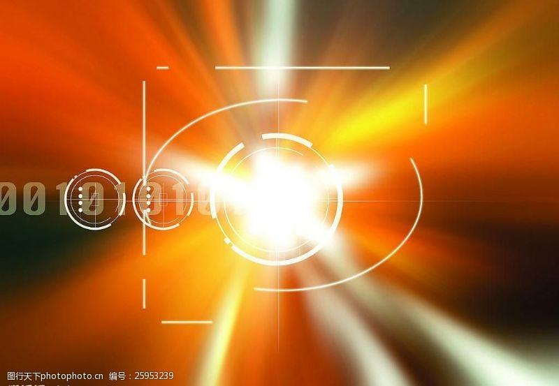 科技创意黄色光图片模板下载现代科?#35745;?#20182;设计图库72dpijpg