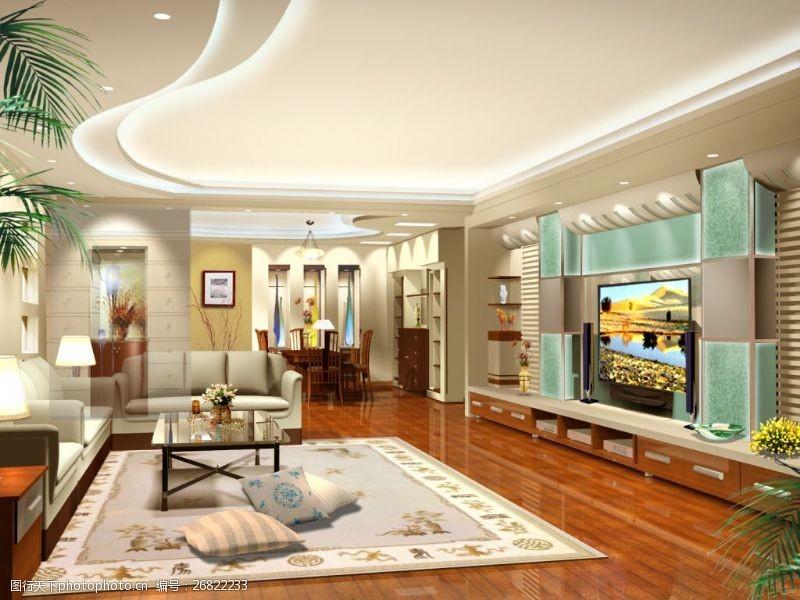 72dpi客厅室内设计环境设计72DPI