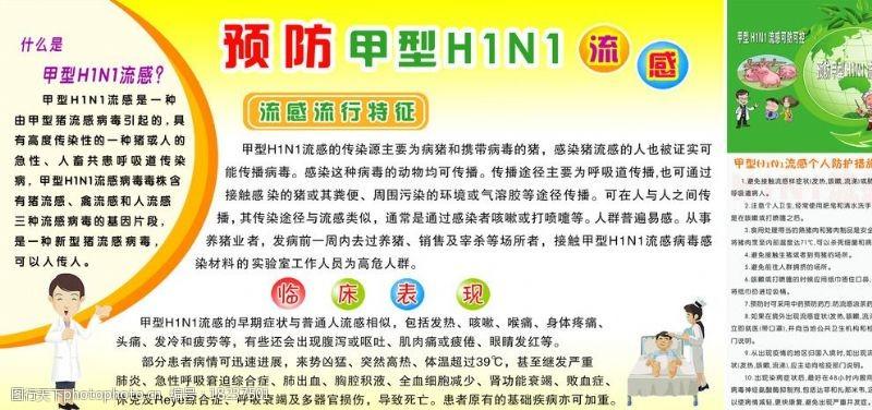 流感常识甲型H1N1图片