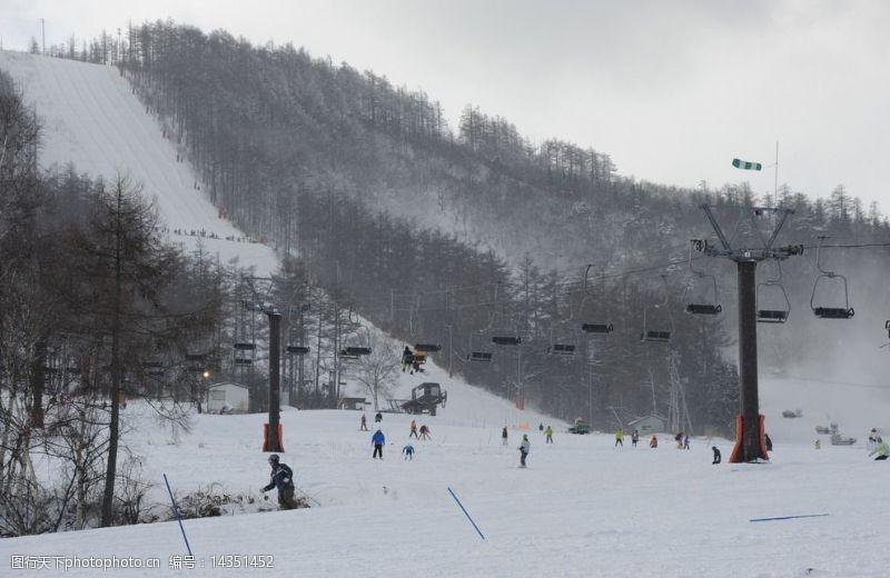 志贺高原滑雪场图片
