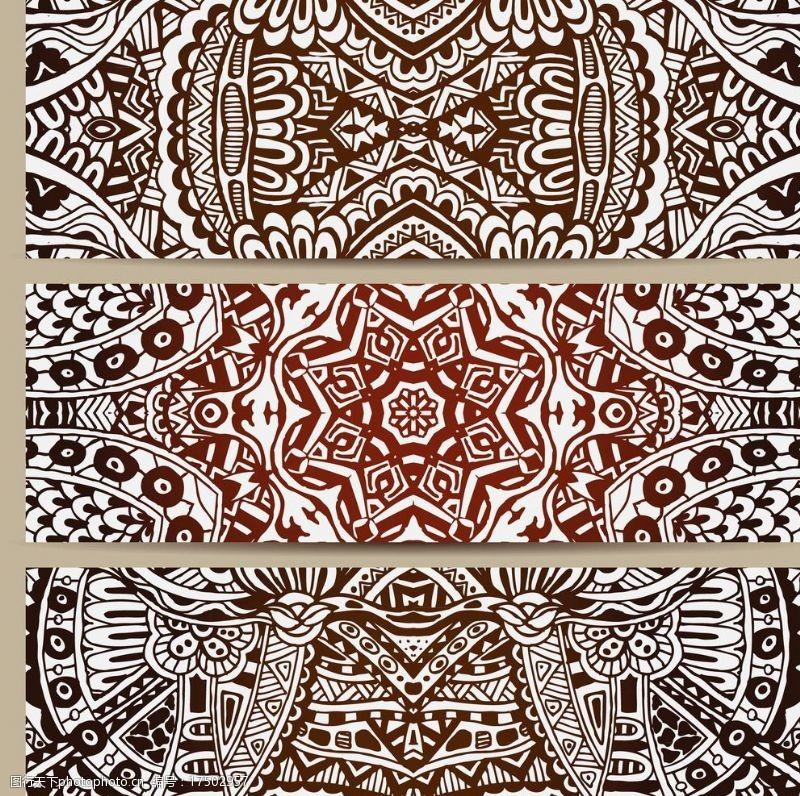 标题背景底纹花纹卡片图片
