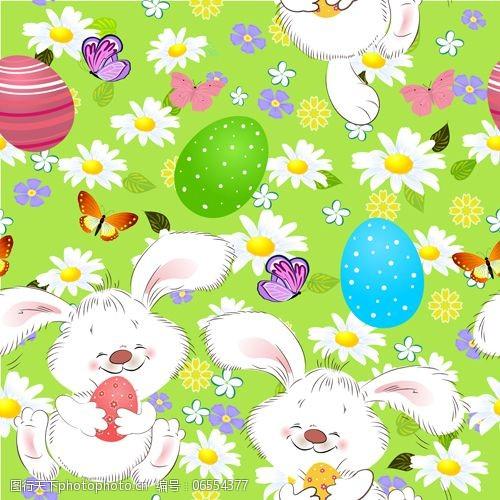 充满欢乐的兔子