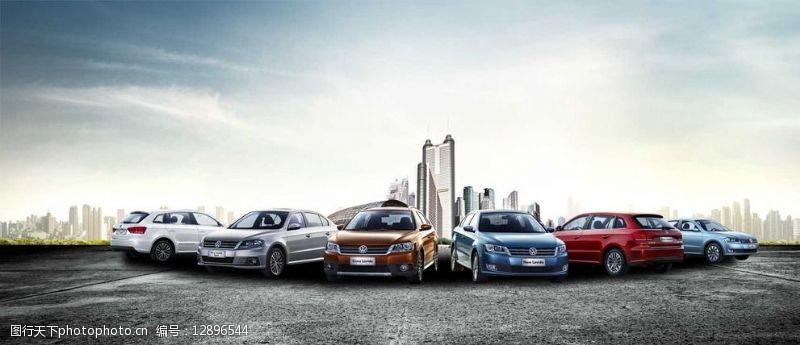 高端汽车广告PSD分层素材大图片