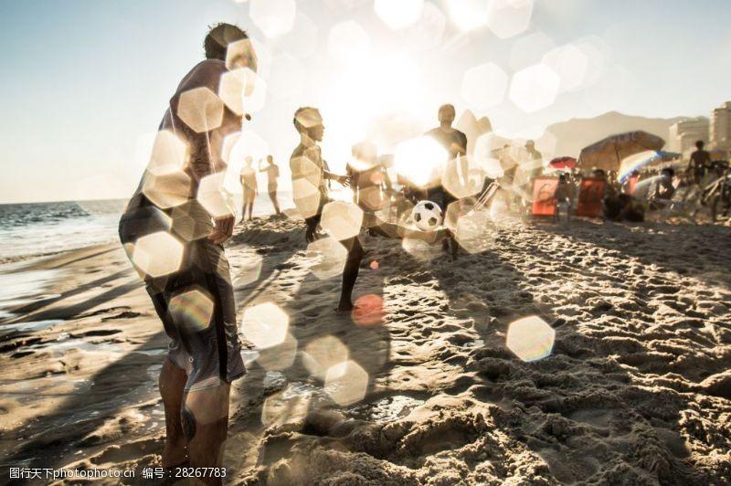 人物高清图片海边光斑