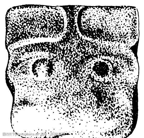 商周时代版画装饰画矢量AI格式_1161