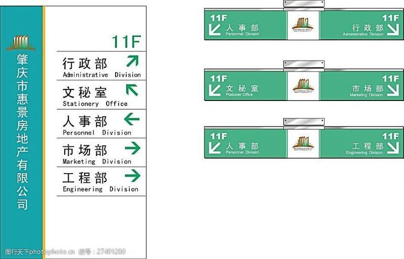 导视牌矢量素材导视牌矢量模板素材