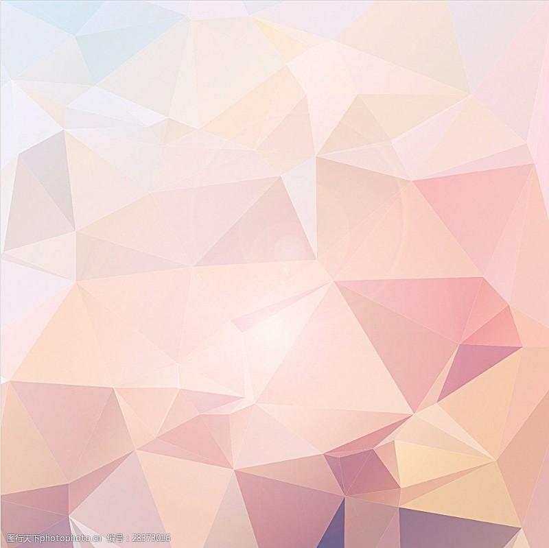 水晶模板粉色背景图片