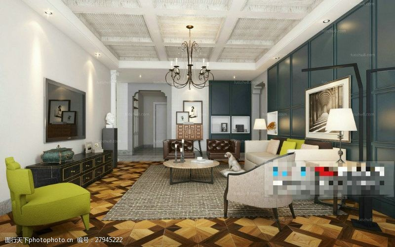 家居装饰素材3D模型
