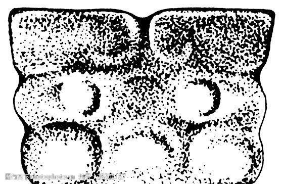 商周时代版画装饰画矢量AI格式_1157