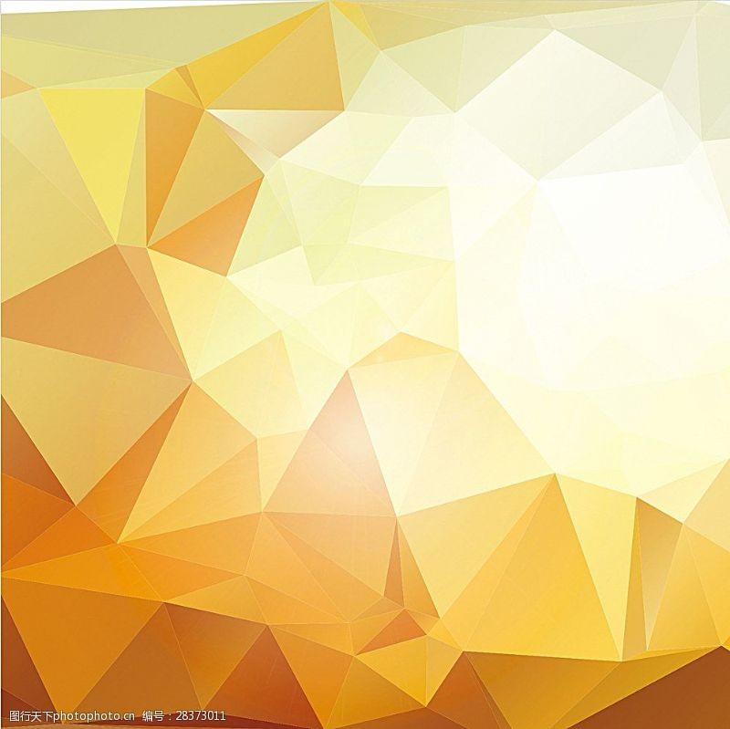 水晶模板金色背景图片