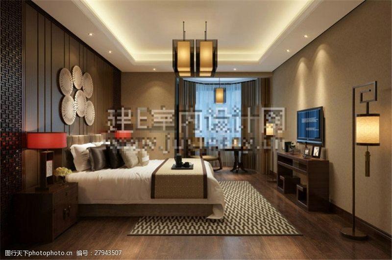 max格式客厅装饰设计效果图