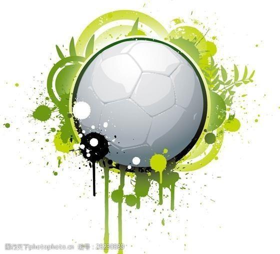 高尔夫与足球主题矢量素材eps格式_03