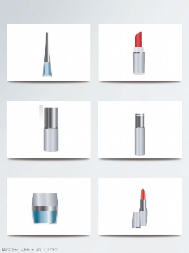 彩妆时尚美妆化妆品素材