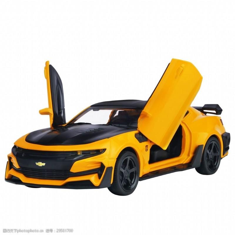 雪弗兰科迈罗大黄蜂车模型白图