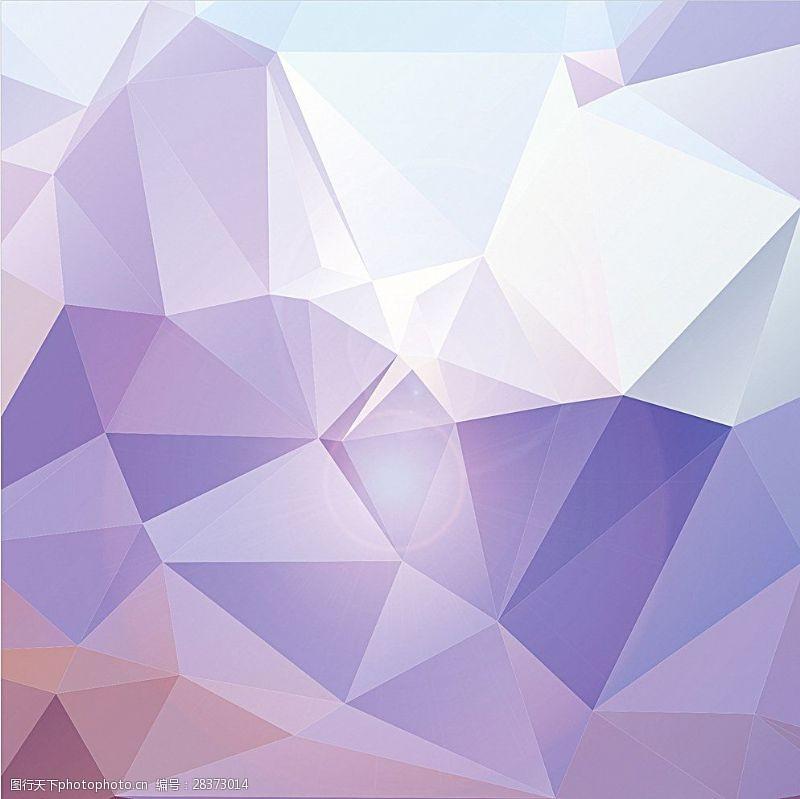水晶模板紫色背景图片
