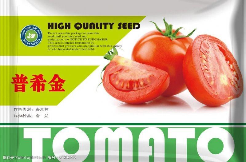 种子包装袋蕃茄包装图片