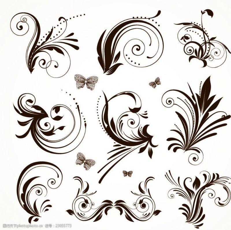 古典时尚设计欧式花纹