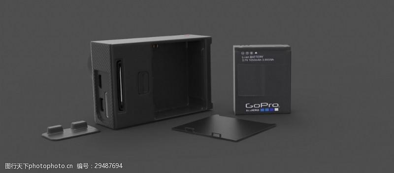 goproGoPro相机建模项目:BeaHERO!