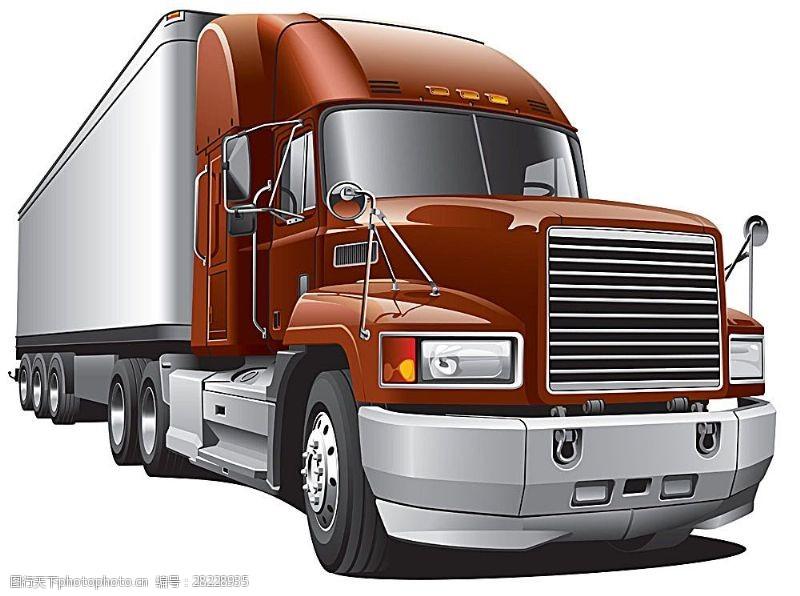 货车模板矢量货车图片