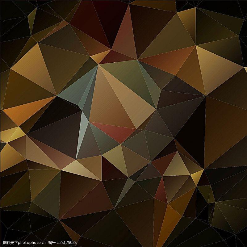 水晶模板质感背景图片