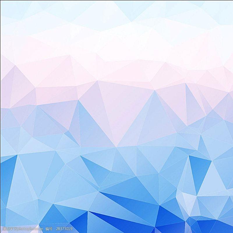 水晶模板清新背景图片