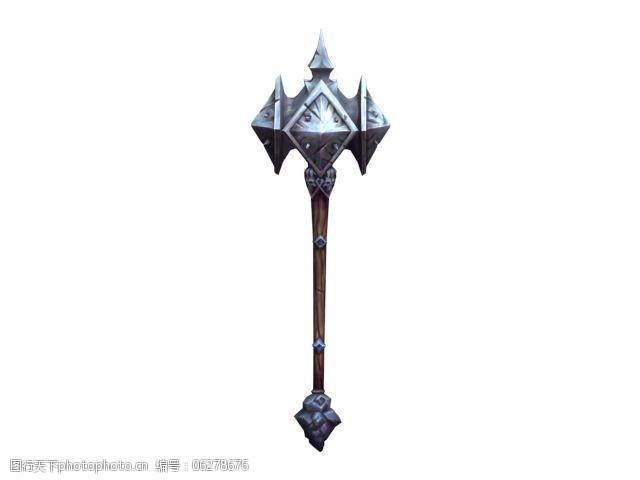 金属锤暗黑血统2锤子武器模型