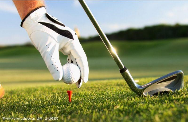 皇室运动高尔夫高清摄影