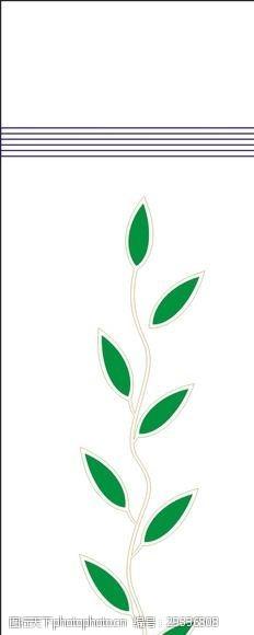 家居装饰素材树叶